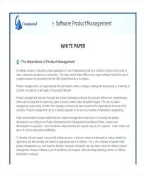 Free White Paper Template Business White Paper Template Investment Research Details