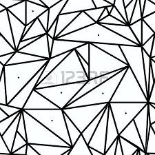 geometric stained glass pattern geometric simple black and white pattern triangles or stained glass window can