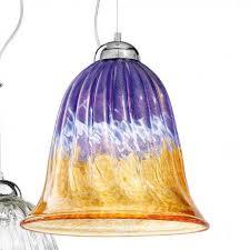 frida murano glass pendant light