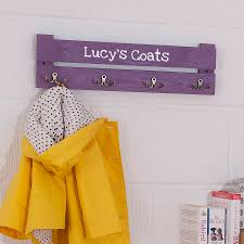 Personalized Kids Coat Rack Personalised Wooden Coat Racks For Kids By Plantabox 38