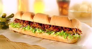 new subway applewood pulled pork man reviews food