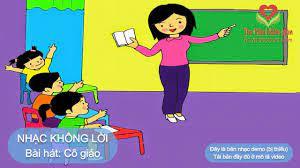 Bài hát Cô giáo em | Beat nhạc mầm non - Nhạc thiếu nhi - Nhạc karaoke - Nhạc  không lời - YouTube