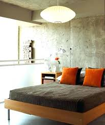 interior cinder block wall ideas concrete wall ideas retro chic bedroom with concrete walls concrete block
