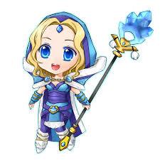 dota 2 crystal maiden chibi by seika on deviantart