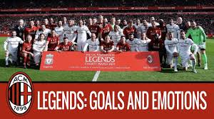 Liverpool are the team with a huge history. A Look Back On Liverpool Legends V Milan Glorie Youtube