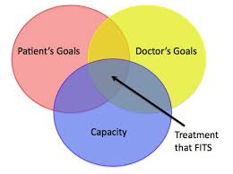 Three Domains Of Life Venn Diagram What Is Fit By Hannah Fields Mayo Medical School Student