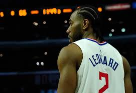 The small forward was the nba finals mvp in 2014 when he led the san antonio. Clippers Kawhi Leonard Says Nba Players Deeds Matter Not Words