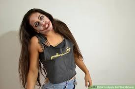 image led apply zombie makeup step 12