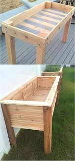 two really simple and nice diy raised beds i would increase the depth on the first one and add weed barrier landscape fabric at the bottom to both