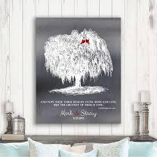 personalized willow tree corinthians 13 13 faith hope love 10th anniversary gift faux shiny tin custom art print 1412
