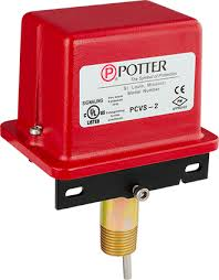 potter electric signal company, llc Potter Sprinkler Tamper Switch Wiring fire sprinkler systems � supervisory switches pcvs series Potter Fire Sprinkler Tamper Switches