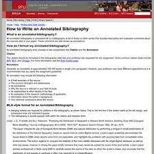 How to Write an Annotated Bibliography   HandMadeWritings Blog Annotated Bibliography Generator Sample
