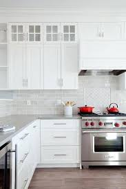 red backsplash tiles kitchen white and gray kitchen with red accents red glass tile backsplash kitchen