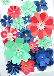 Paper Flower Cutter Beautiful Paper Flower Template Small Rose File With Video Tutorial