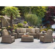 patio furniture sets costco. Barcalounger 6-piece Theater Seating Set Patio Furniture Sets Costco E