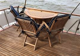 the aft sundeck is at least for us the key to the outdoor lifestyle we live on board life s travails spreading across the full beam of the boat