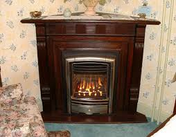 fireplacemantel as central decorative element