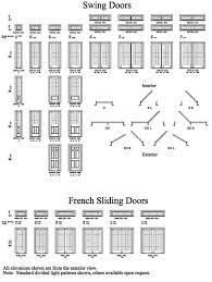 interior door sizes doors sizes sliding glass doors sizes and technical specs