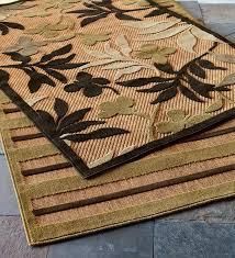 polypropylene outdoor rugs trees