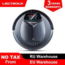 (FBA warehouse)<b>LIECTROUX</b> B3000 <b>Robot Vacuum Cleaner</b> ...