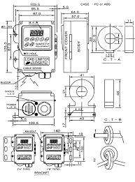 kukdong hoist co 8 outline drawing attach drawing and how to connect c t