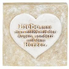 Poesie Stein Mit Spruch Liebe Sieht Man Nicht Mit Den Augen 15