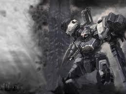 Smoke Ac Mech Mechs Armored Core Robot Wallpaper Mecha