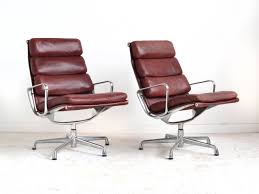 eames soft pad lounge chairs by herman miller for sale at stdibs
