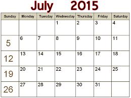July 2015 Calender Barca Fontanacountryinn Com