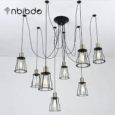 retractable lamp cord creative vintage loft pendant lights adjustable wire iron cage pendant lamp retractable bar retractable lamp cord