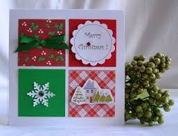 Handmade Christmas Cards  Handmade Christmas Card Ideas  Come Up Card Making Ideas Christmas