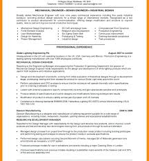 Mechanical Design Engineer Sample Resume Digiart