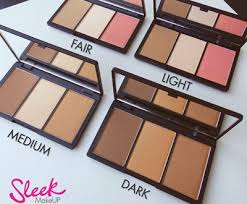 with the sleek makeup face form palette in hand you ll have three fewer things to worry about