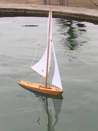 Model Sailboat Design Bowman Gull With New Rigging Model Sailboat Yacht Design