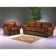 Decorating Omnia Leather Oregon Leather Sofa In Brown For Elegant