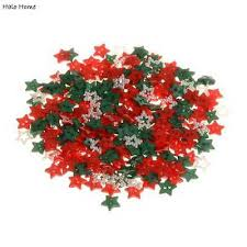 <b>200pcs Mixed Christmas</b> Color Star Resin Buttons Sewing ...