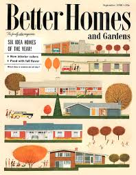 Small Picture Vintage 50s Better Homes and Gardens Mid Century Architecture