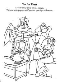 Similar of belle coloring pages more images. Belle Coloring Pages