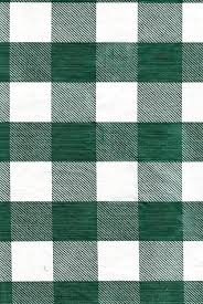 chf green white check vinyl patio tablecloth with umbrella hole and zipper 70 round com