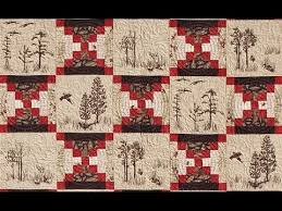 Log Cabin Court House Steps quilt video by Shar Jorgenson - YouTube &  Adamdwight.com