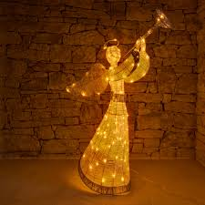 Weihnachtsbeleuchtung Für Außen Figur In Form Eines Engels