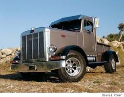 Custom built Peterbilt PICKUP. I WANT ONE! BRIGHT RED PLEASE ...