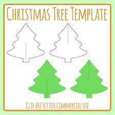 array tree cardboard cut out decoration template craft clip art set rh teacherspayteachers