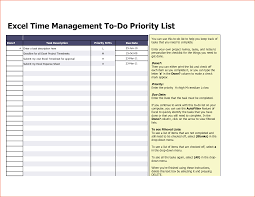 Management List Sample Excel Time Management Project Task List Template Sample For Ms Word 1