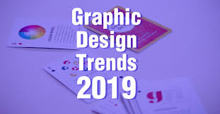 Best Graphic Design Trends 2019 Top 5 Graphic Design Trends Important For 2019 99inspiration