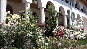 garden columns. White Columns House And Flourish Garden Stock Video Footage - VideoBlocks E