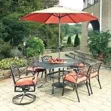 outdoor dining table with umbrella outdoor dining furniture with umbrella patio dining sets on rectangular