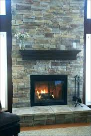 stone tiles fireplace tacked install stacked stone tile fireplace
