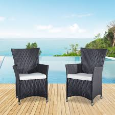 rattan furniture covers. Outsunny Patio Furniture Covers 2Pcs Rattan Chair Set Garden Wicker  Seat Outdoor Rattan Furniture Covers I