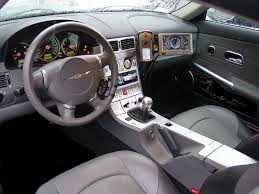 chrysler crossfire custom interior. chrysler crossfire customizations to interior custom r